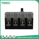 Corta-circuito moldeado 4p del caso de la corriente continua