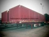 De Semi Aanhangwagen van de Omheining van China met 1800mm Zijgevel voor Verkoop