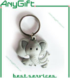 3D pvc Keyring van SOFT met SHAPE Customized en Logo 16