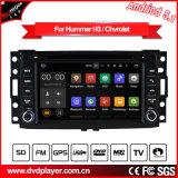 Auto GPS navegação de Hualingan para o reprodutor de DVD do Android do Hummer H3