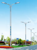 luz de calle solar de la lámpara de los 8m 45W LED