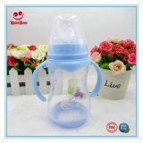 frasco de alimentação largo do leite da boca 250ml para o bebê