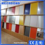 El panel de aluminio de PVDF Sandwish para la pared Curtaion