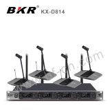 Système de conférence sans fil KH-D814 Pll 4CH UHF