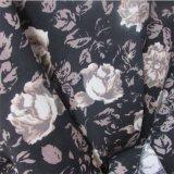 Il tessuto normale ha stampato il tessuto viscoso dell'indumento della Rosa per il vestito dalle donne