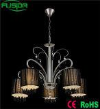 Iluminação fundida decorações dos candelabros do casamento