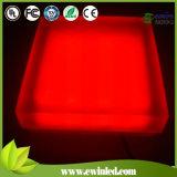 RGB 색깔 변하기 쉬워 유리제 선반 LED 벽돌