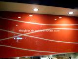 Vidro decorativo Tempered com impressão da tela de seda para o edifício