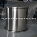 "una bobina di 6 "" X6 "" Stainless Steel Triclamp con Seamless Welded Bottom"