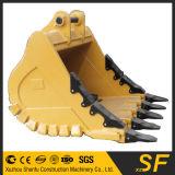 Benna della roccia dell'escavatore PC360, benna standard, 1.6 Cbm, pezzi di ricambio dell'escavatore