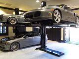 De Post AutoLift van het Heftoestel van de Lift van de Auto van het Heftoestel van Auto vier Auto