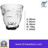 Het duidelijke Vaatwerk kb-Hn041 van de Kop van de Whisky van de Kop van het Water van het Glas van de Tuimelschakelaar