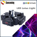 1개의 LED Roller Scanning+Beam Moving Head에 대하여 DMX 512 2