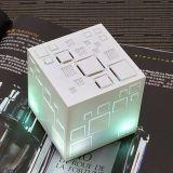 Diodo emissor de luz mágico do altofalante do cubo, altofalante do cubo de Bluetooth
