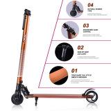 E-Vespa plegable de la vespa eléctrica de la aleación de aluminio de dos ruedas 5 pulgadas