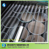 Vidrio Tempered plano claro redondo de China Shandong para la cortina de lámpara