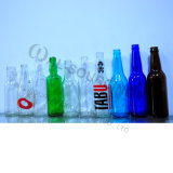 Bouteille en verre géante de bière