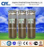 Cilindro industrial aprovado do vaso Dewar do argônio do nitrogênio do oxigênio líquido do PONTO