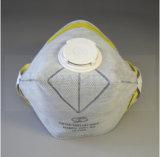 作動したカーボン水平のフォールドの平らな塵マスクAS/NZS 1716 P1