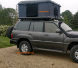 tente dure blanche de dessus de toit de Land Rover de couverture d'interpréteur de commandes interactif de la tente 4WD campante