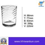 Fashinedの石のガラスウィスキー水ガラスのコップのガラス製品のKbHn0253