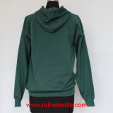 Embroidery Logo, Casual Jacket, Brushed Fleece Hoodie for Adults