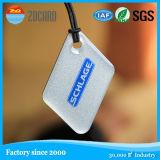 Etiqueta elegante del rodillo de la viruta anti de papel RFID del metal NFC Ntag213