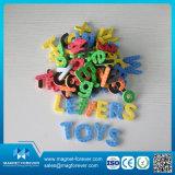 Multi Color Magnetic Educational Alphabet Letters Toy Magnet pour une étude préscolaire