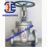 Valvola a saracinesca della flangia dell'acciaio inossidabile 304 di ANSI/DIN