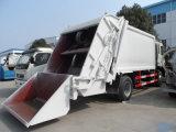 판매를 위한 Cnhtc 쓰레기 트럭 12m3 쓰레기 쓰레기 압축 분쇄기 트럭