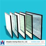 El claro/teñió/vidrio aislado manchado/reflexivo para el vidrio del edificio