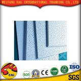 Tuiles blanches de plafond de gypse de papier d'enduit de PVC de couleur