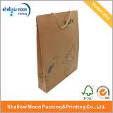 Tinta y colada del lirio de agua con la bolsa de papel del fichero de la maneta (QY150039)