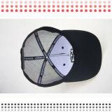 Бейсбольные кепки панели черноты 6 способа высокого качества для сбывания