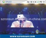 Pequeña pantalla de interior del alquiler HD LED de la etapa de la echada del pixel de P2.5mm