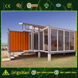 Huis die van de Container van de luxe het Prefab naar huis leven