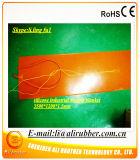 Esteiras do aquecimento do silicone/almofadas elétricas/folha/faixa com o calefator de alumínio do silicone da placa