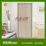Incendie-Résister à la porte intérieure neuve du matériau WPC (KM-09)