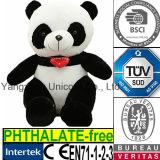 Panda mou de coeur de cadeau de Valentine de jouet de peluche de peluche de la CE