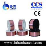 Kohlenstoffarmer Stahl materielle Aws A5.18 MIG Sg2 Schweißens-Drähte 0.6mm-2.0mm