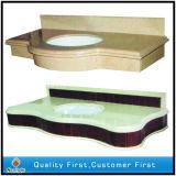 Encimeras artificiales superficiales sólidas del cuarzo para la cocina y el cuarto de baño
