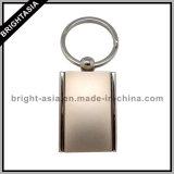 Espaço em branco personalizado Keychain da liga do zinco (BYH-10676)