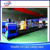 Автомат для резки плазмы CNC пробки трубы металла высокой точности круглый