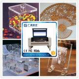Gravure à laser à CO2 de Guangzhou pour acrylique en bois