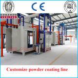 Price do competidor Custmize Powder Coating Line para Gas Tank