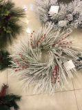 [أم] تصميم عيد ميلاد المسيح هبة إكليل مجموعة مع إنارة (صاحب مصنع مباشر)