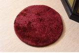 円形の羊皮のシート・クッションのソファーのクッションの床のカーペット