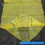 sacs à maille du PE 20kg pour la pomme de terre et les oignons de empaquetage