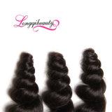 Оптовые естественные бразильские свободные волнистые человеческие волосы девственницы