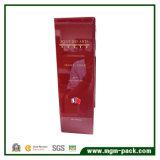 Подгонянная красная высокая лоснистая Polished деревянная коробка вина